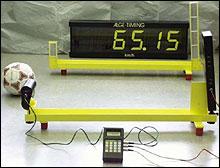 Система измерения скорости мяча